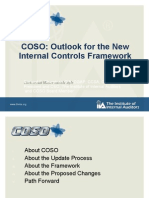 Proposed Revisions to the COSO Framework