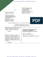 Pfizer Emergency Motion BYU Lawsuit