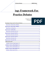 Deontology Framework