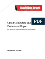 Cloud Computing and the Drummond Report