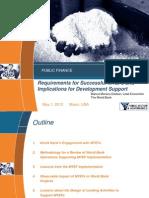 Lessons from adopting a Medium Term Expenditure Framework (MTEF) Worldwide
