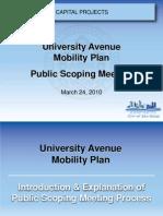 20100324 - MAD University Avenue - Uampmtgpresentation