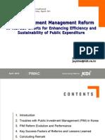 PIM Reform in Korea