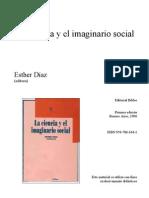 La Ciencia y El Imaginario - Esther Díaz