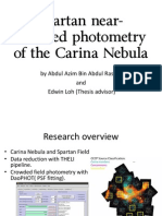 Spartan Near-Infrared Photometry of Carina Nebula.