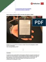 Kobo chega ao Brasil em 2012 com leitor de e-books e tablet