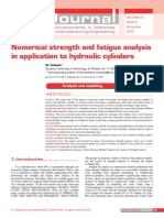 Hydraulic Cylinders Fatigue]
