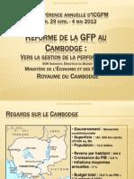 PFM Reform in Cambodia