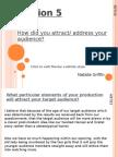 Question 5 Evaluation