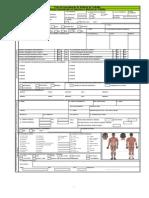 Ficha de investigação de acidente do trabalho