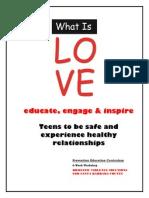 dvs teen program curriculum 2012