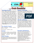 4th Grade Newsletter December