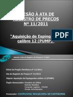 ATA DE REGISTRO DE PREÇOS DE PUMP CBC
