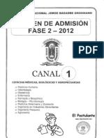 Unjbg 2012 Fase 2 Canal 1