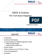 OBIEE Essbase the Truth About Integration