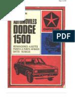 Manual Dodge 1500 de Reparaciones