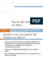 Teoría del Estado - Marx