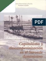 Capitalismo y Descampesinizacion Del Sur Oeste Dominicano