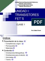 UNIDAD I - Clase 1