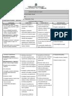 Plano de Ensino 2012