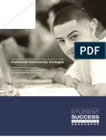 Student Success Task Force recommendations