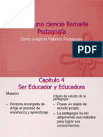 Presentacion de Power Point Pedagogia