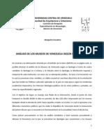 Análisis de los museos de Venezuela según su tipología