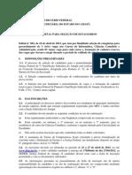 EDITAL 002-2012 Sel de Estag Para Admin