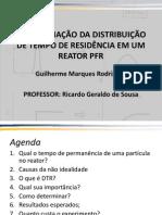 LFO - Determinação do Tempo de Residência de um Reator