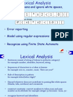 Lexical Analysis1