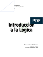 21032009 Introduccion a La Logica