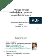Orthology_paralogy