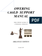 Lowering Child Support Manual Arkansas Edition