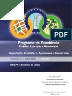 Fascículo CREA-PR Programa de Excelência