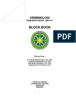 Block Book Kriminologi