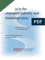 Report on Detergent Industry