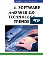 Social Software and Web 2.0 Technology Trends