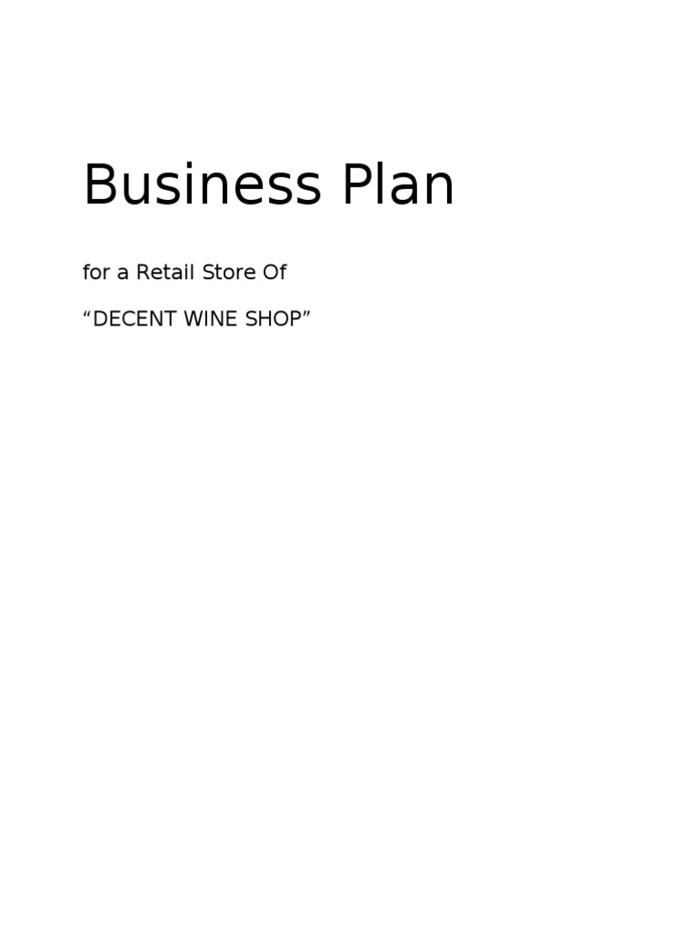 Winery Business Plan Winery Wine - Winery business plan template