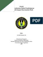 Teknik Pembuatan Media Pembelajaran Interaktif Dengan Macro Media Flash