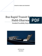 Hubballi-Dharwad BRTS Detailed Feasibility Report