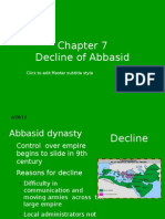 Decline of Abbasid Dynasty