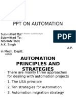 Ppt on Automation