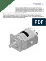 J-Gear Pumps Catalogue
