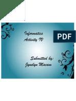 ACTIVITY IV-JYNELYN CAINTA MACAM