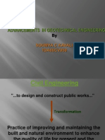 Ppt of Advances in Geotechnology