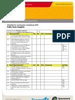 Falls Checklist