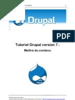 Mettre Du Contenu Drupal7