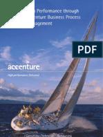 Accenture BPM High Performance Through Accenture Business Process Management