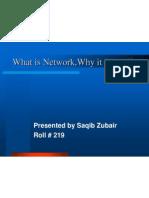 Presentation by Saqib Zubair