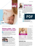 Moneywise Financial Guide to Having a Baby